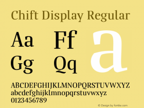 Chift Display