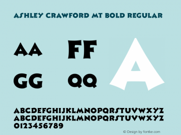Ashley Crawford MT Bold