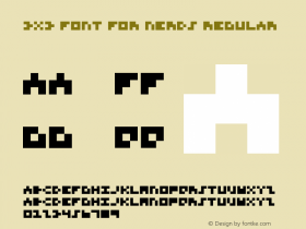 3x3 Font for Nerds