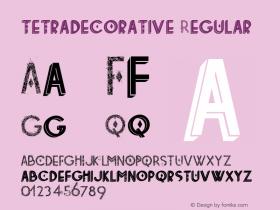 tetradecorative