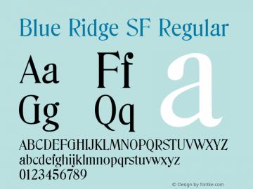 Blue Ridge SF