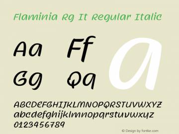 Flaminia Rg It