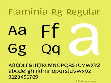 Flaminia Rg