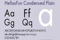 HellasFun Condensed