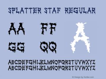 Splatter-staf