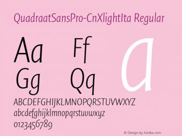QuadraatSansPro-CnXlightIta