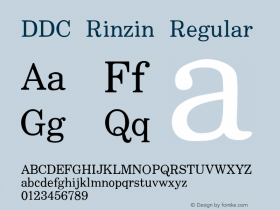 DDC Rinzin