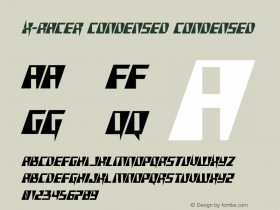 X-Racer Condensed