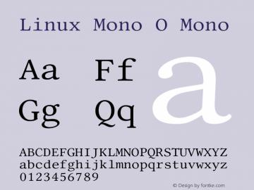 Linux Mono O