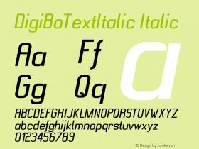 DigiBoTextItalic