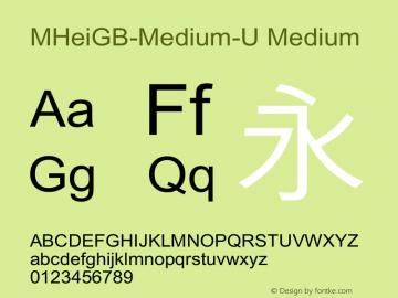 MHeiGB-Medium-U