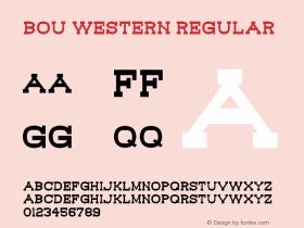 Bou Western