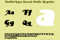 BottleKaps Swash Italic