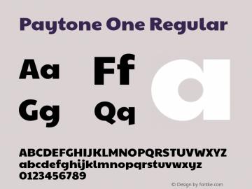 Paytone One