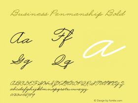 Business Penmanship