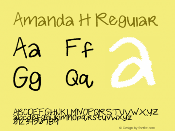 Amanda H