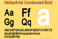 HellasArial Condensed
