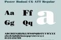 Poster Bodoni CG ATT