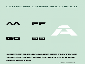 Outrider Laser Bold