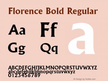 Florence Bold
