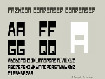 Fazhion Condensed