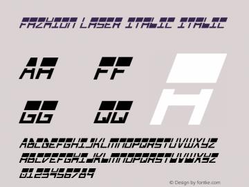 Fazhion Laser Italic