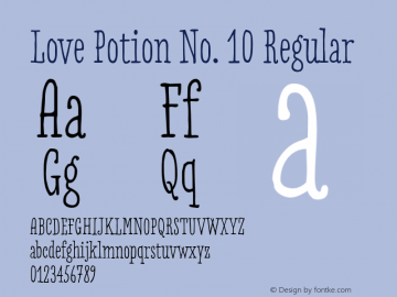 Love Potion No. 10