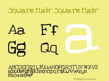 Square Hair