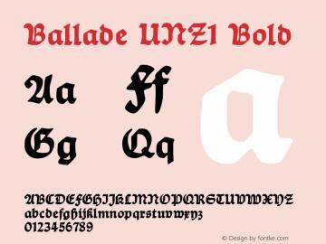 Ballade UNZ1