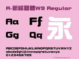 R-新綜藝體W9