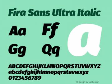 Fira Sans Ultra