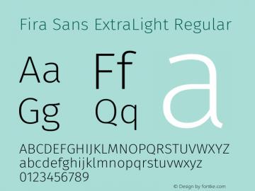 Fira Sans ExtraLight