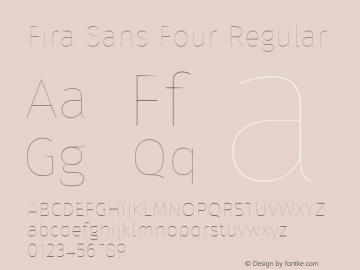 Fira Sans Four