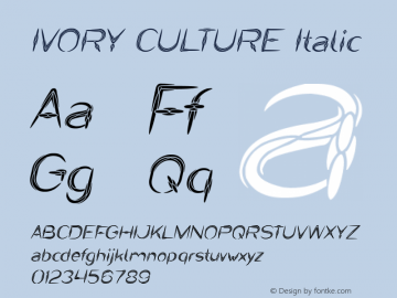 IVORY CULTURE