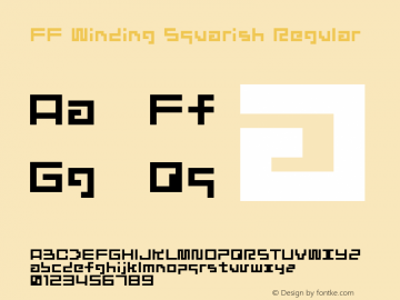FF Winding Squarish