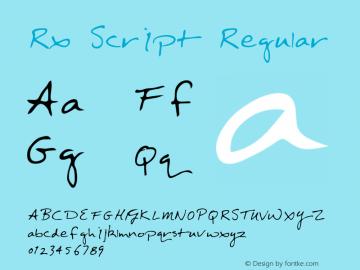 Rx Script