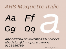 ARS Maquette