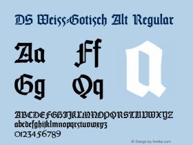 DS Weiss-Gotisch Alt