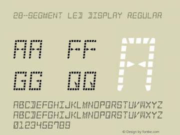28-Segment LED Display