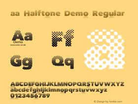 aa Halftone