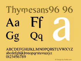 Thymesans96
