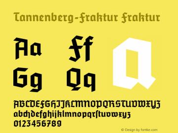 Tannenberg-Fraktur
