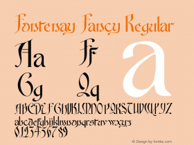 Fontenay Fancy
