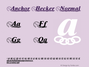 Anchor Becker