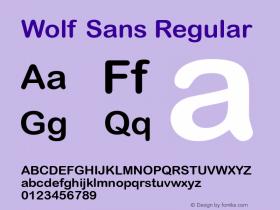 Wolf Sans