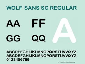 Wolf Sans SC
