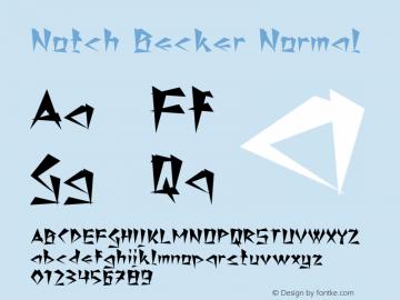 Notch Becker