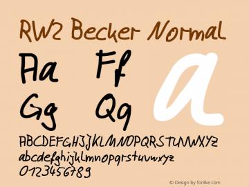 RW2 Becker