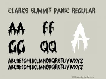 Clarks Summit Panic