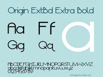 Origin ExtBd